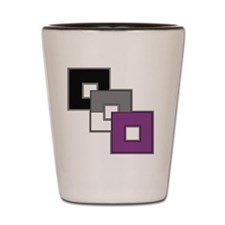 Asexual Pride Shot Glass