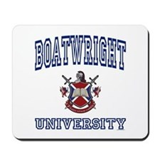 BOATWRIGHT University Mousepad