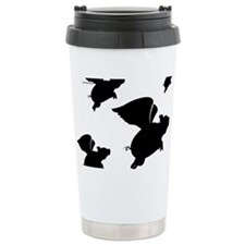 When Pigs Fly Ceramic Travel Mug