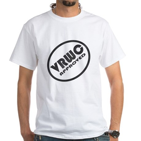 VRWC Approved White T-Shirt