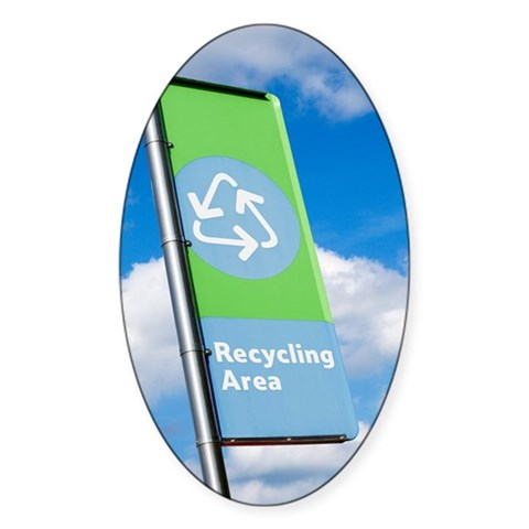 Recycling sign Decal