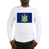 New York Flag Long Sleeve T-Shirt