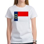 North Carolina Flag Women's T-Shirt
