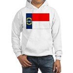 North Carolina Flag Hooded Sweatshirt
