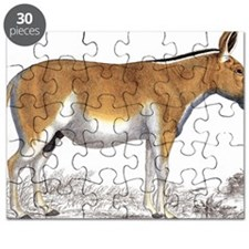 Portrait of kiang wild ass Puzzle