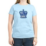 Royal Crown, blue T-Shirt
