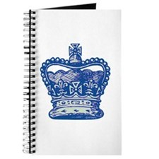 Royal Crown, blue Journal