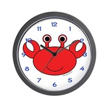 Carl the Crab Wall Clock