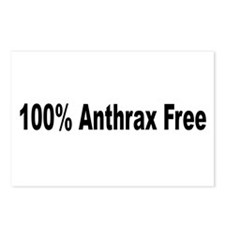 """Anthrax Free"" Postcards (Package of 8)"