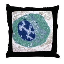 Plasma cell, TEM Throw Pillow