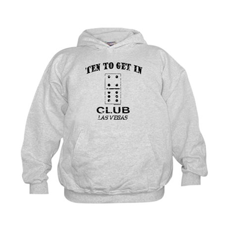 Club 10 to Get In Kids Hoodie