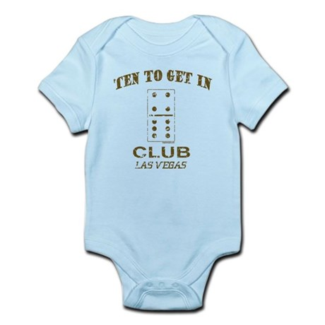 Club 10 to Get In Infant Bodysuit