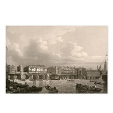 Old London Bridge, 1745 Postcards (Package of 8)
