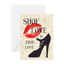 Shoe Love 2 Greeting Card