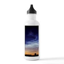 Noctilucent cloud Water Bottle