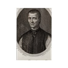 Niccolo Machiavelli, Italian phil Rectangle Magnet