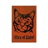 Viva el Gato! Cat icon Magnets (10 pack)
