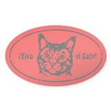 Viva el Gato! Cat Revolution Decal
