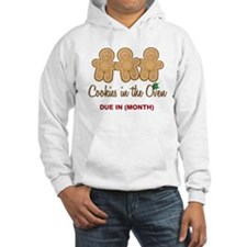 Gingerbread Cookie Triplets Due Hoodie