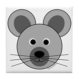 Marvin the Mouse Tile Coaster