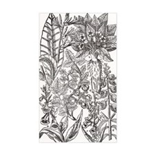 Mandrake and foxglove plants Decal