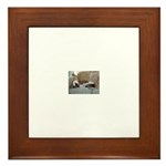 Jack Greyhound Framed Tile