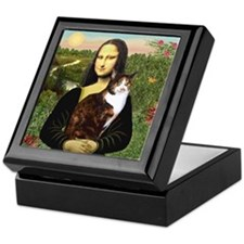 Mona's Calico Cat Keepsake Box