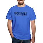 Listen to the fishing voices Dark T-Shirt