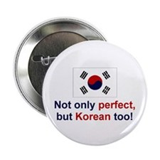 "Korean-Perfect 2.25"" Button (10 pack)"