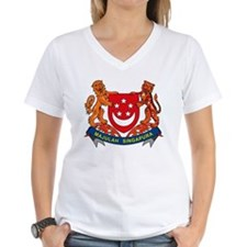 Singapore Coat of Arms Shirt
