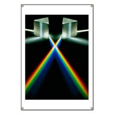 Light through prisms Banner