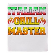 Italian Grill Master Throw Blanket
