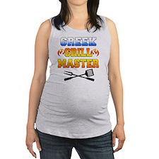 Greek Grill Master Arpon Maternity Tank Top