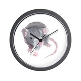 Gray Rat Wall Clock