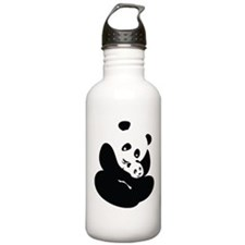 Panda Cuddles Water Bottle