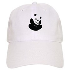 Panda Cuddles Baseball Hat