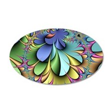 Julia fractal Decal Wall Sticker