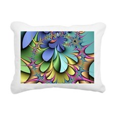 Julia fractal Rectangular Canvas Pillow