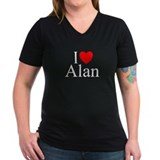 """I Love (Heart) Alan"" Shirt"