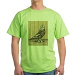Brown Mottle West Green T-Shirt