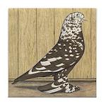 Brown Mottle West Tile Coaster
