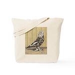 Brown Mottle West Tote Bag