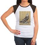 Brown Mottle West Women's Cap Sleeve T-Shirt