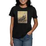 Brown Mottle West Women's Dark T-Shirt