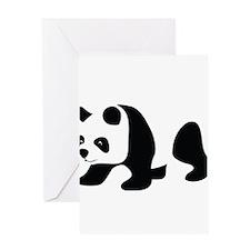 Panda-3 Greeting Cards