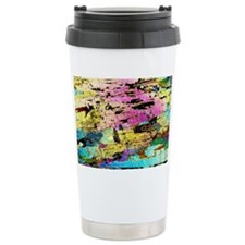Hornblendite rock, light microg Ceramic Travel Mug