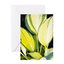 Hosta 'Remember Me' Greeting Card