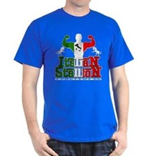 Classic Italian Stallion Royal Blue T-Shirt