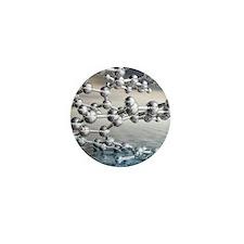 Helicene chiral hydrocarbon Mini Button