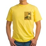 Blue Grizzle West Yellow T-Shirt